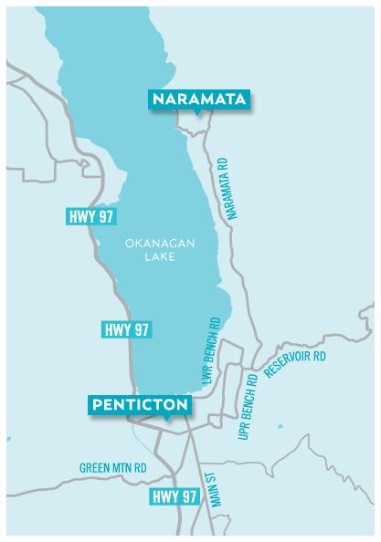 naramata map