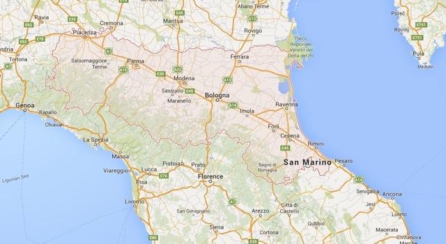 lambrusco map