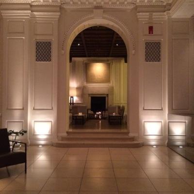 public hotel lobby