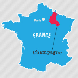 wine folly champagne map